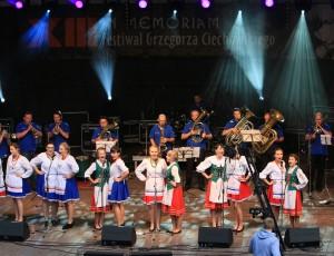Niektórzy tczewscy uczestnicy specjalnego projektu muzycznego z okazji 15-lecia Festiwalu