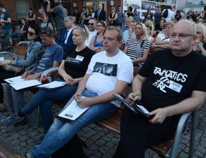 Jurorzy XII Ogólnopolskiego Konkursu Piosenek Grzegorza Ciechowskiego