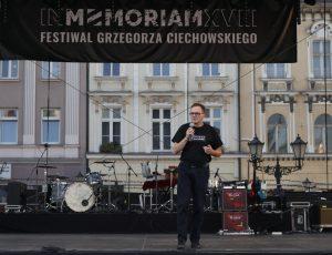 Wstępny program In Memoriam XX Festiwalu Grzegorza Ciechowskiego
